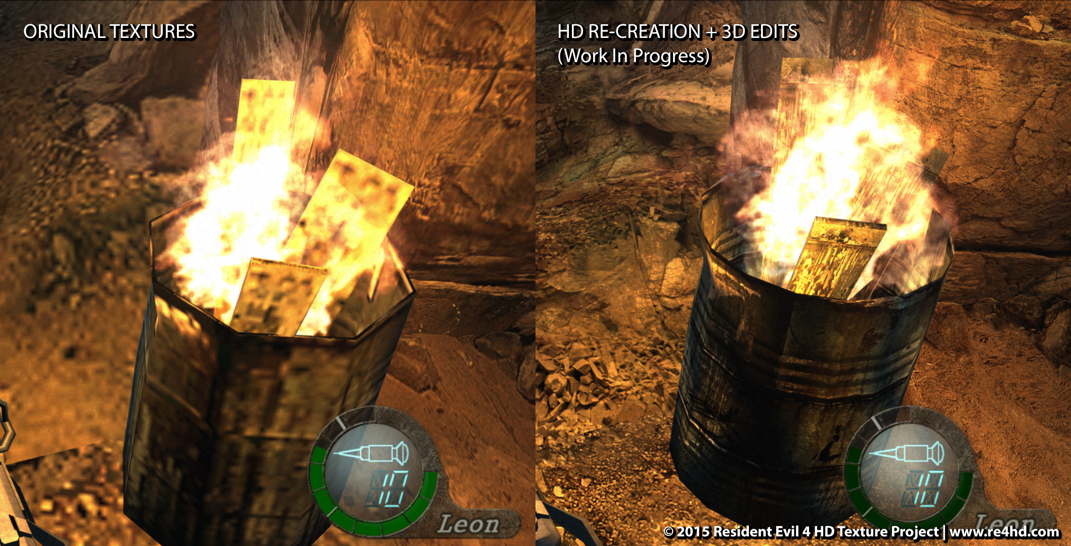resident evil 4 hd texture pack